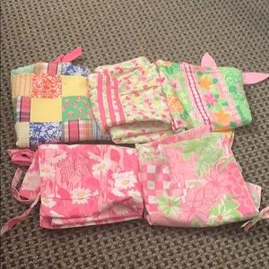 Lot of 5 girls Lilly Pulitzer dresses size 8